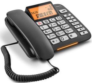 Schnurtelefon DL580 Schwarz
