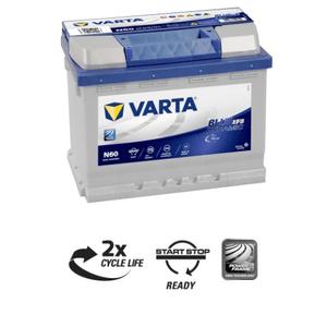 Autobatterie Blue Dynamic EFB 60Ah N60