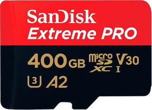 Extreme Pro 170MB/s microSDXC 400GB