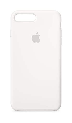 iPhone 8 plus & 7 plus coque en silicone blanc