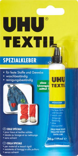 Colle spéciale textile