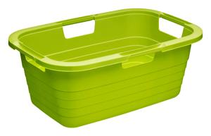 Wäschekorb 37l Sunshine grün