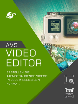 AVS Video Editor incl. Activation-Key PC