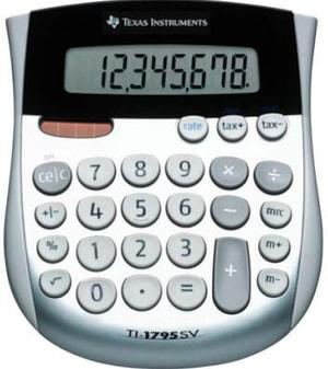 Calculatrice TI-1795SV 8-chiffres