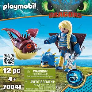 PLAYMOBIL 70041 ASTRID CON TUTA DA V