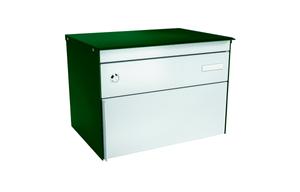 Cassetta dellapost s:box 13 verde muschio/allu