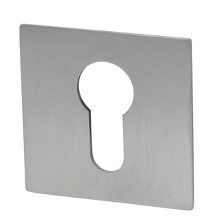 Schlüsselrosetten Plano PZ eckig