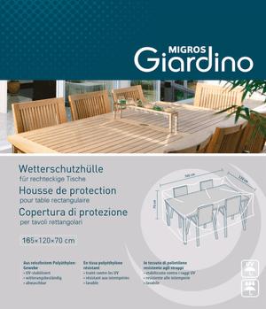 Bevorzugt Schutzhüllen + Abdeckungen für Gartenmöbel | Do it + Garden MIGROS CZ94