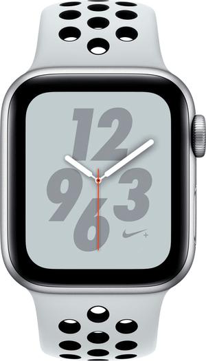 Watch Nike+ 40mm GPS+Cellular silver Aluminum Pure Platinum Nike Sport Band