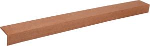 Lame de terrasse composit bordure 1 pcs. brun