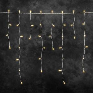 LED Eisregen Lichtervorhang 10m