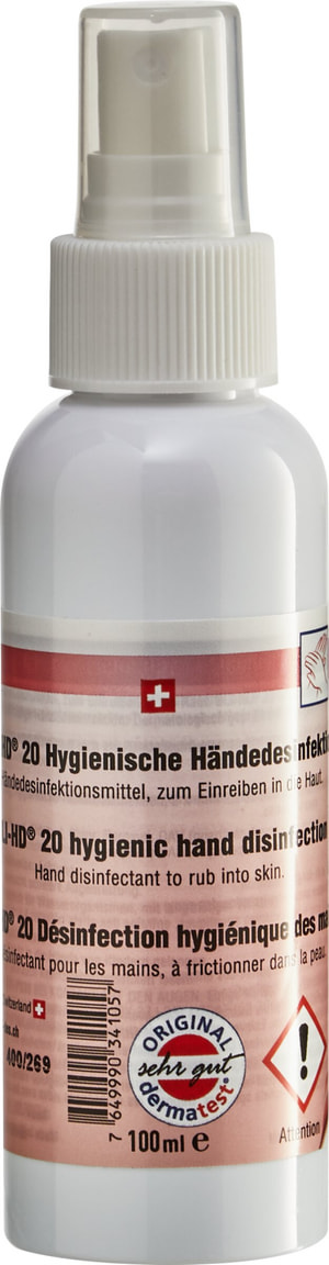 Handdesinfektion Spray 100ml (28Stk.)
