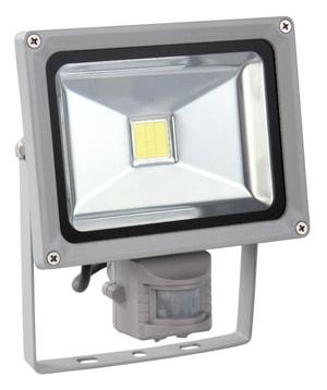 Projecteur LED mural détecteur 20 W