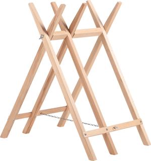 Chevalet de scieur en bois