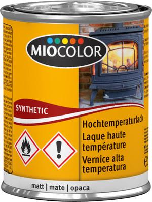 MC Laque haute température mate Noir 125 ml