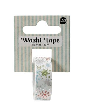 Washi Tape, Schneeflocke