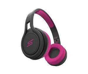 SMSAudio STREET Bügelkopfhörer Pink