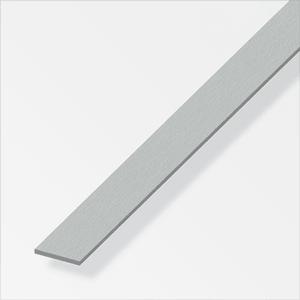 Flachstange 2 x 15 mm inox -optik 1 m