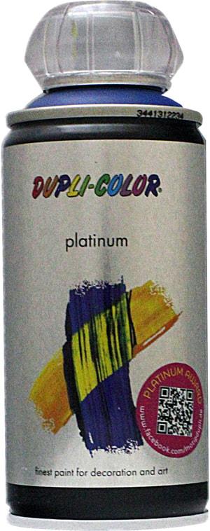 Vernice spray Platinum opaco