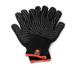paio di guanti con superfici di presa in silicone S/M
