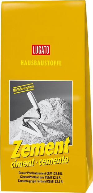 Hausbaustoff - Zement