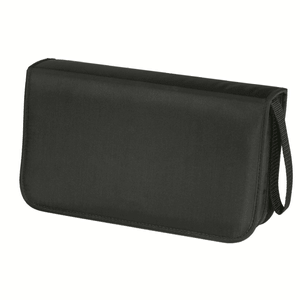CD Wallet nylon 80 CD black