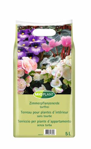 Terreau pour plantes d'intérieur, 5 l