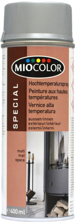 Vernice spray alta temperature