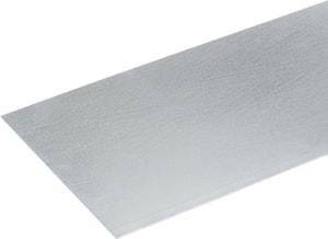 Tôle lisse 0.5 x 250 mm zingué 0.5 m