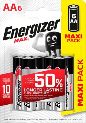 MAX AA Maxipack 6p