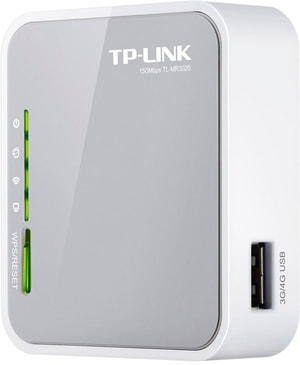 TP-Link TL-MR3020 Routeur sans fil N 3G/4G portable