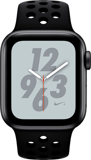 Watch Nike+ 40mm GPS+Cellular space gray Aluminum Anthracite Black Nike Sport Band