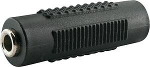 Adattatore audio jack 3.5mm nero