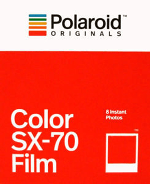 Polaroid Originals Film SX-70 Color 8 Photos