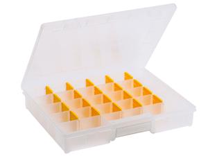 Boîtes d'assortiment, 7-29 compartiments, PP