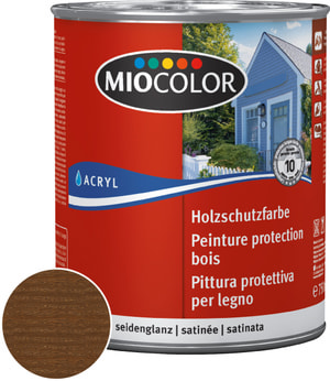 Acryl Glacis bois Noyer 750 ml