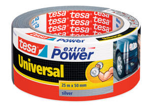 extra Power® Universal 25m:50mm grau