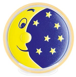 Lucetta notte LED luna e stelle