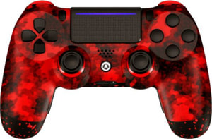 Manette Camo Red