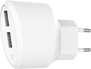 Travel Charger 2.4A + 1A Dual USB EU blanc