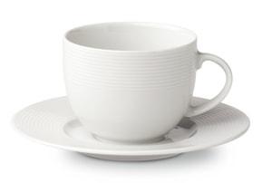 VIENNA Kaffeetasse mit Unterteller
