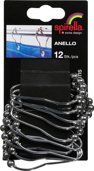 Doccia tenda anelli Anello