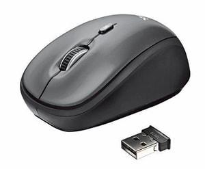 Yvi Wireless Mouse schwarz