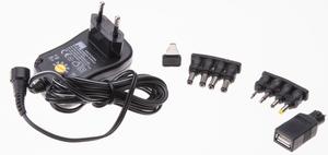 Universal-Steckernetzgerät 1000mA schwarz