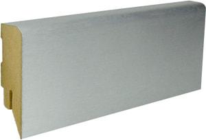 Sockelleiste Stahl gebürstet Nr. 56
