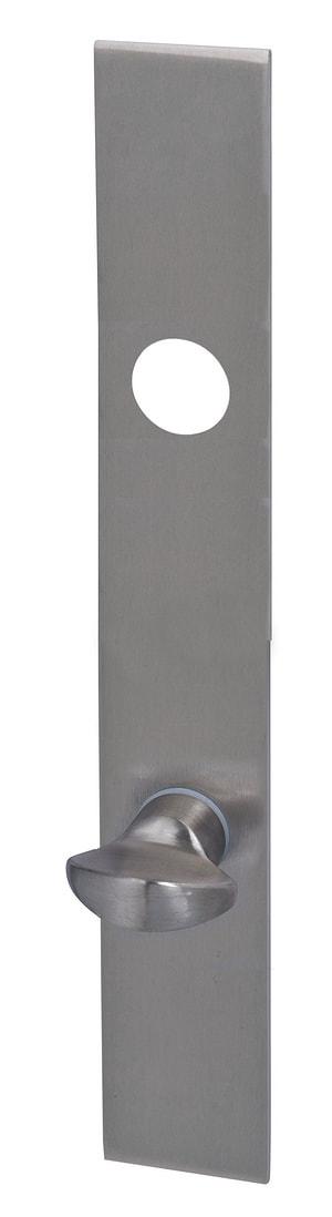 Poignée à col long WC 78 mm carrée
