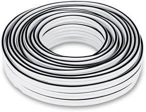C4515S 2x4mm² Lautsprecherkabel 15m - Weiss