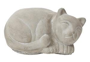 CEMENT CAT, 22X15.5X11.5CM