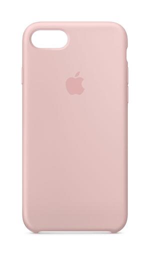iPhone 8 & 7 Silicon Case rosa di sabbia