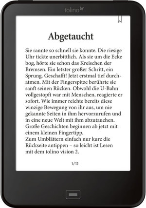 Vision 2 eBook-Reader